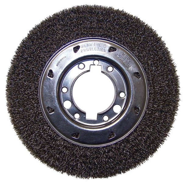 Tremendous Wire Wheel Brushes C1030 8 Crimped Bench Grinder Wire Caraccident5 Cool Chair Designs And Ideas Caraccident5Info