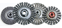 Wire Wheel Brushes for Angle Grinders